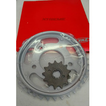 Kit Relação Coroa E Pinhão Cbx 250 Twister Vaz Xtremi 1045