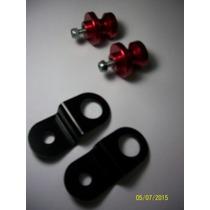 Slider Traseiro Cb300 Cb300r Vermelho - Frete Grátis Brasil