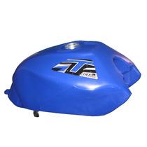 Tanque Plástico Azul Honda Titan 150 2004 Á 2008 - Gilimoto
