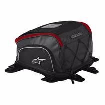 Mala Tanque Moto Alpinestars Aero Preta Bolsa Dianteira
