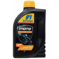 Oleo Ipiranga Protection Moto 4 Tempos- 20w50 Mineral Sg