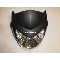 Farol Completo Titan-150 2014 Preto Brilhante Original Honda