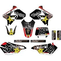 Kit Adesivos Gráfico Moto Bros, Drz,yz, Wr, Rmz, Kx