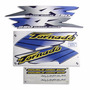 Adesivo Xr250 Tornado 2001-2002 Azul Kit