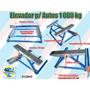 Elevador Autos Plataforma 1000 Kg C/ Rodas