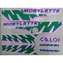 Jogo De Faixa Mobilete Caloi Xr 94 Neon Verde