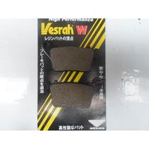 Pastilha Cbr 1000rr 06/10 Traseira Vesrah Made Japan