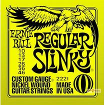 Ernie Ball 2221 Corda De Guitarra 010 - Encordoamento