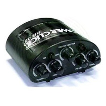Amplificador De Fone De Ouvido Power Click Db 05 Fonte 12 X