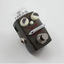 Mini Pedal Guitarra Baixo Hotone Whip Heavy Metal Distorção