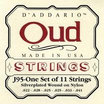 Oferta ! D Addario J95 Encordoamento Oud S. Wound Ny 11cord