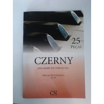 Método Órgão Eletrônico Ccb Novo Czerny C/ Pedal Organista