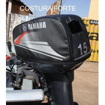 Capa Para Motor De Popa - 15 A 18 Hp - Costura Forte