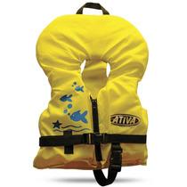 Colete Salva Vidas Ativa Com Gola Infantil - 13kg A 22kg