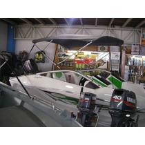 Capota/toldo P/ Barcos E Lanchas 18 E 19 Pés, Skynautica