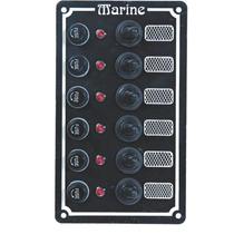 Painel Elétrico 6 Botões Para Lancha,nautico