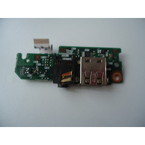 Placa Audio / Usb Para Netbook Hp Mini 110-1121/1122 /1125