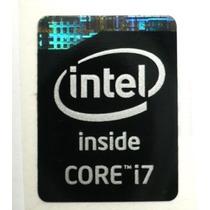 Adesivo Original Intel Core I7 4º Geração (preto) Notebook