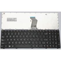 Teclado Ibm Lenovo Ideapad G570 G575 Series Laptop Us Black