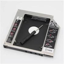 Adaptador Dvd P/ Hd Ssd Notebook Hp Drive Caddy 12.7mm Sata
