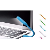 Mini Led Luminária Notebook Pc Usb Flexível Portátil Leitura