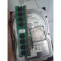 Hd 80gb Processador Intel Pentium 4 Memória Ram 512mb Cooler