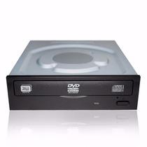 Leitor De Cd/dvd-w P/ Desktop Pc Sata Preto Super Multi