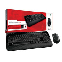 Kit Teclado E Mouse Wireless Desktop 2000 - Microsoft