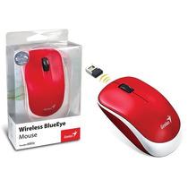 Mouse Wireless Genius Traveler 6000z Vermelho Usb 1200dpi