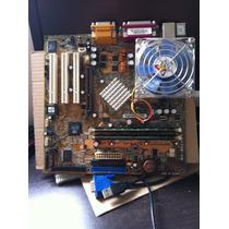 Placa Mãe A7n266-vm/ Athlon Xp 2000+/ 1gb Ram/ Cooler