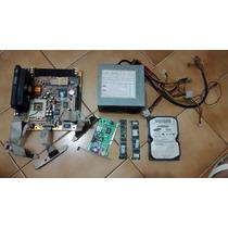 Kit Peças Antigas Computador Pentium2 Relíquia -não Testadas