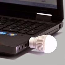 Mini Lampada Luminária Usb Led Branca Frio Frete Gratis
