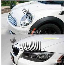 Cilios Farol De Carro Tunning 3d Eyelash Farol Personalizado