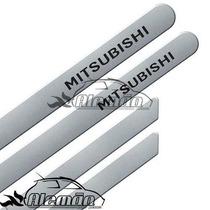 Jogo De Friso Com Nome Mitsubishi L200 Cinza Londrino