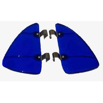 Acessórios P/ Quebra Vento Do Fusca Acrílico Azul