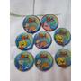 Tazos Titanium Bob Esponja Desenho Animado - Elma Chips - 8