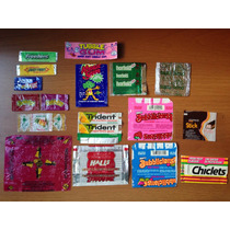 Embalagens Antigas De Chocolates Balas E Chicle - Anos 80 90