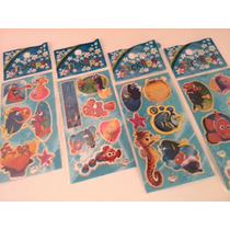Nemo - Kit Com 12 Cartelas De Adesivos Stickers
