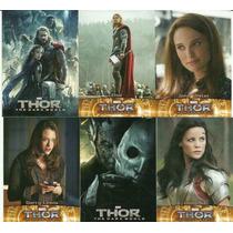 Cards Thor - The Dark World. Coleção Completa.