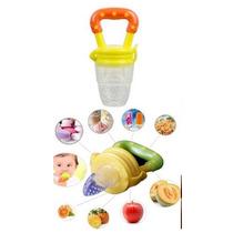 Alimentado Amarelo /bico Silicone C/tampa,fruta/carne/legume
