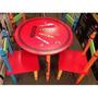 Kit Infantil Brinquedo 1 Mesa 4 Cadeiras Crayon Frete Barato