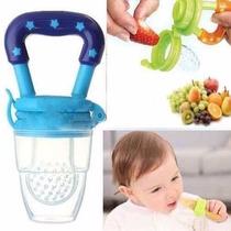 Alimentador De Fruta P/ Bebe Com Bico De Silicone