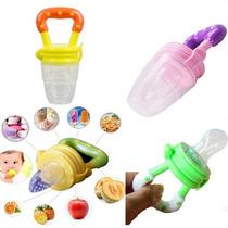 Alimentador Bico Silicone Bebê Fruta Carne Legumes