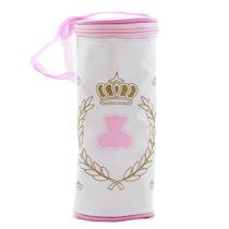 Porta Mamadeira Térmico Simples Lipi Baby Rosa Menina