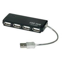 Mini Hub Usb 2.0 4 Portas Bright Plug & Play