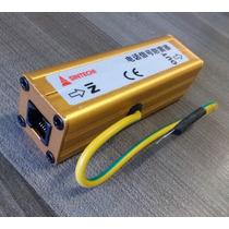 Protetor De Telefone Rj11 Raio Surto Pabx Central Telefônica
