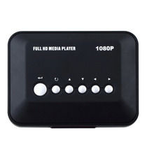 Hd Media Player Hdmi Usb Sd Mmc H.264 Mkv Rmvb Iso 3d!