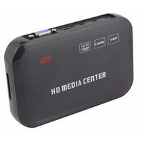 New Media Player Full Hd 1080p Mkv Hdmi Vga Cabo Hdmigratis