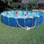 Piscina Estrutural Intex 24.311 Litros Kit Completa Gigante