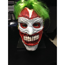 Mascara Do Coringa Em Latex (new Jocker 52)